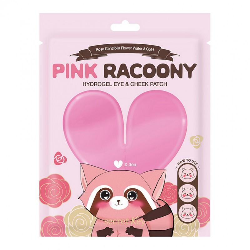 Патчи для кожи вокруг глаз Pink Racoony