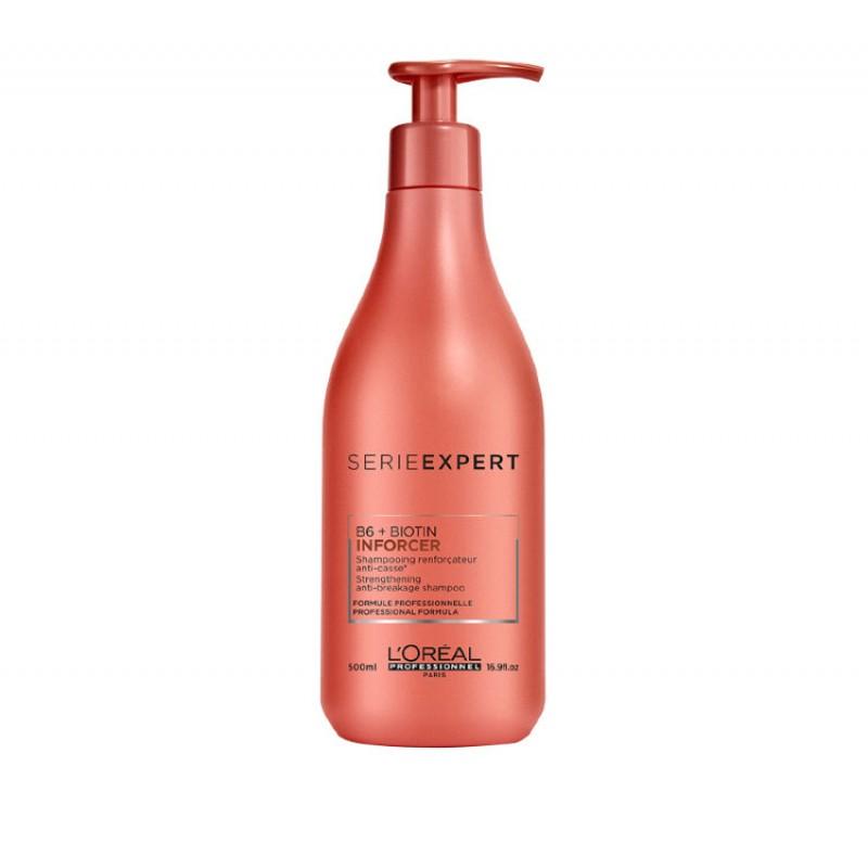 Укрепляющий шампунь против ломкости волос LOREAL PROFESSIONNEL  шампунь Serie Expert Inforcer Loreal