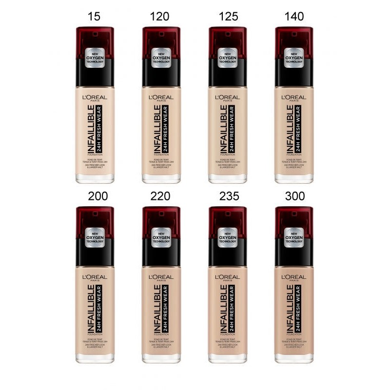 Infallible 24h Fresh Wear Foundation Тональный крем Infallible 24h Fresh Wear Foundation № 125