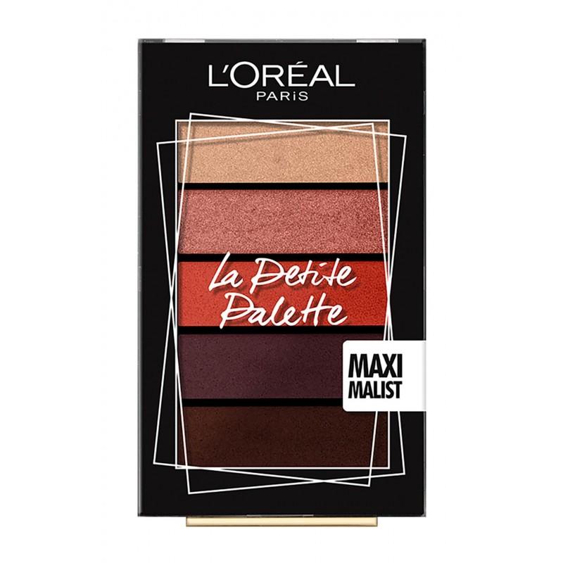 Мини-палетка теней для век La Petit Palette Maxi Malist  - 4ml L'oreal