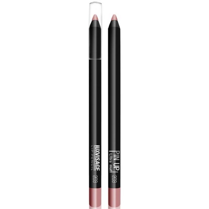 Водостойкий матовый карандаш для губ  Pin Up Ultra Matt 203