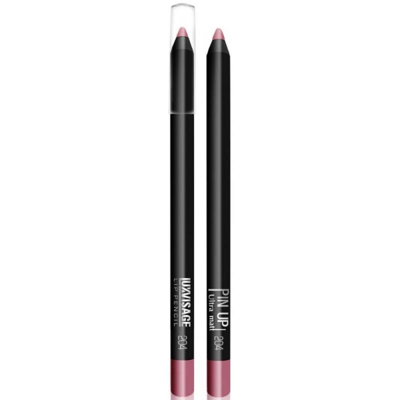 Водостойкий матовый карандаш для губ  Pin Up Ultra Matt 204