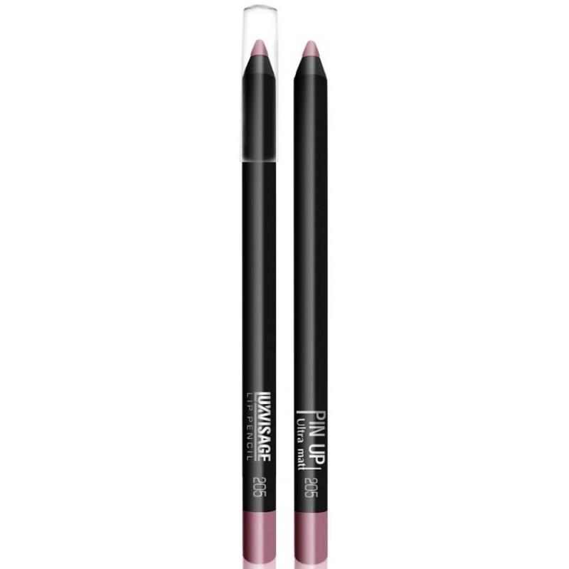Водостойкий матовый карандаш для губ  Pin Up Ultra Matt 205