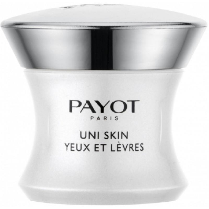 Выравнивающий совершенствующий бальзам  Uni Skin Yeux Levres Payot