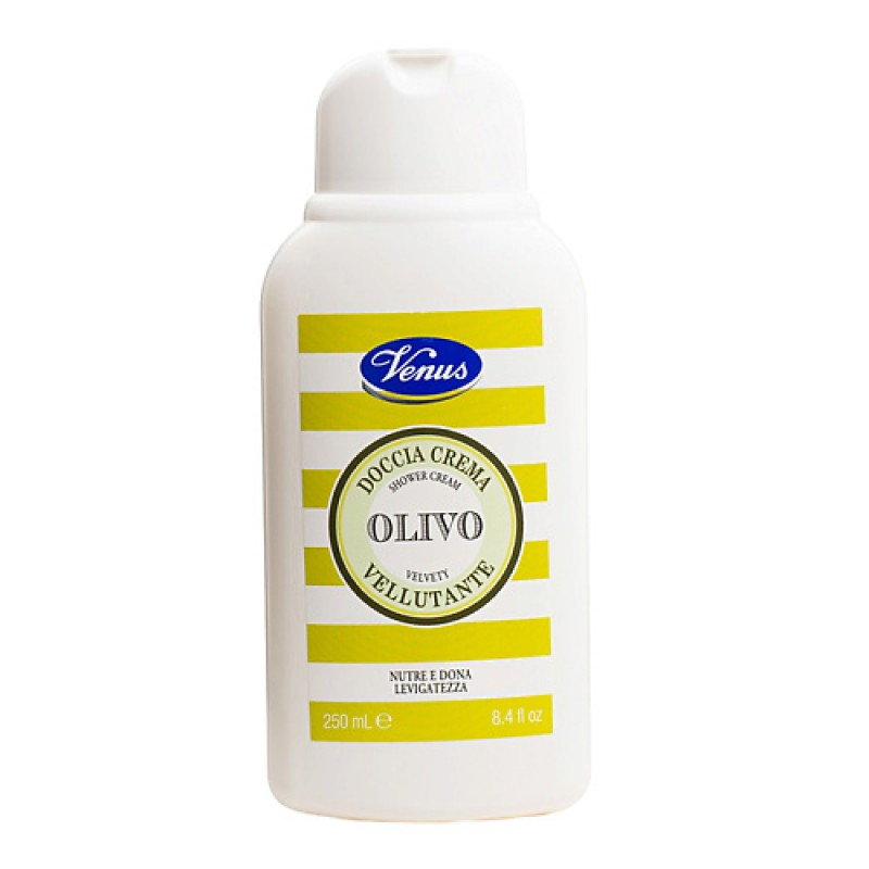 Гель для душа питательный Olivo