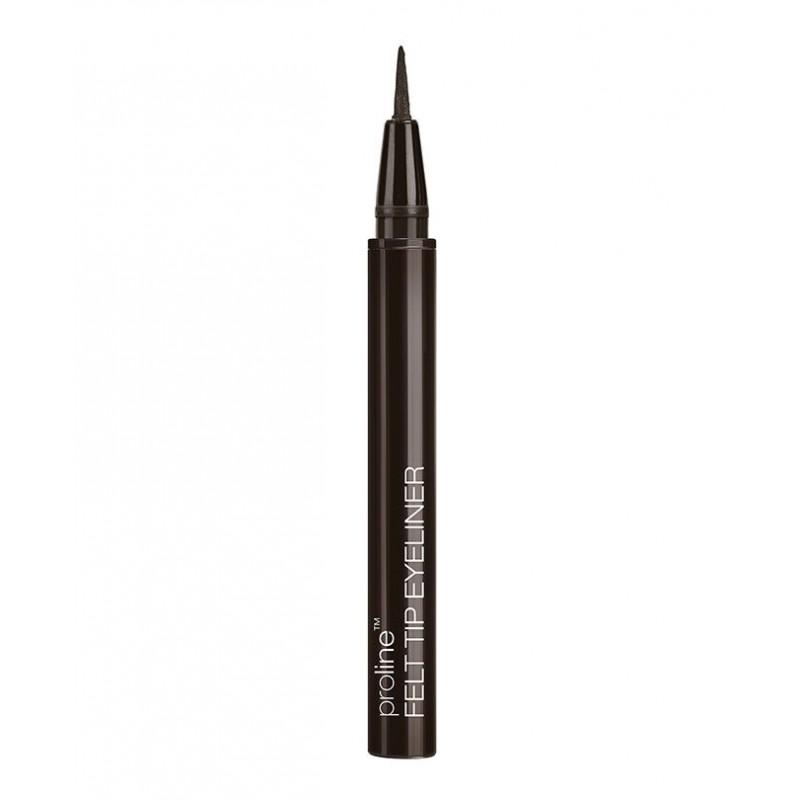 Водостойкая жидкая подводка для глаз ProLine 8762 (dark brown) Wet n Wild